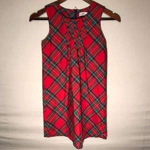 Kid's Vineyard Vines Plaid Christmas Dress